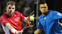Stanislas Wawrinka vs Jo-Wilfried Tsonga, Match 1 Live Streaming: Get Live Telecast of France vs Switzerland Davis Cup Final 2014