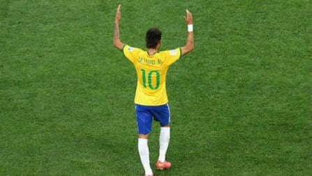 Neymar proves he can handle nerves in the FIFA World Cup 2014
