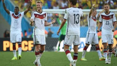 Germany out to down Neymar-less Brazil as titans clash in FIFA World Cup semi-final