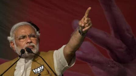 Modi tears into Gandhis in their bastion Amethi