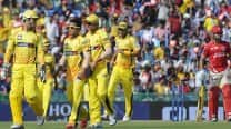 Chennai Super Kings defeat Kings XI Punjab by 7 wickets, IPL 2015: Picture Highlights of KXIP vs CSK