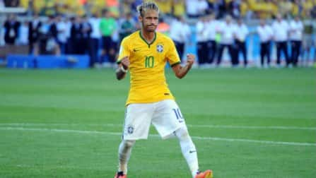 Brazil poster boy Neymar