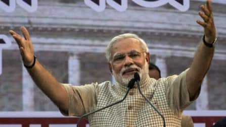 Narendra Modi elected as BJP