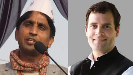 Aam Aadmi Party confident of beating Rahul Gandhi in Amethi: Kumar Vishwas