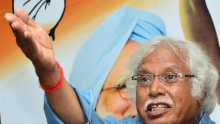 Congress leader Madhusudan Mistry detained for trying to cover Modi