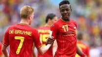 Belgium qualify for Round of 16 through a late Divock Origi goal