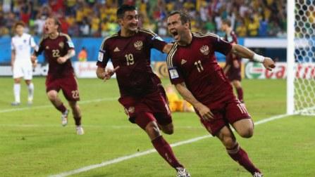 Aleksandr Kerzhakov rescues Russia to draw 1-1 against Korea Republic