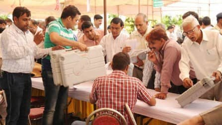 Haryana, Chandigarh polls: Nearly 60 percent polling in Lok Sabha Elections 2014