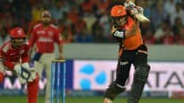 Sunrisers Hyderabad beat Kings XI Punjab by 5 runs, IPL 2015: Picture Highlights of SRH vs KXIP