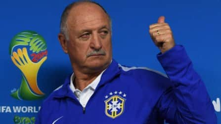 Luiz Felipe Scolari issues rallying cry on eve of World Cup