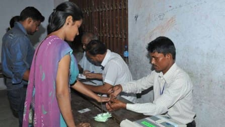 West Bengal records almost 80 per cent turnout