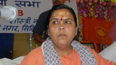 Uma Bharti, her war of words with the Gandhi family & Rakhi Sawant