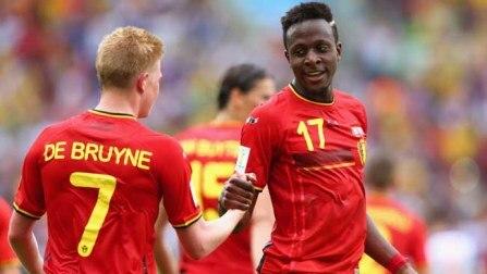Belgium qualify for Round of 16 through a late Divock Origi goal