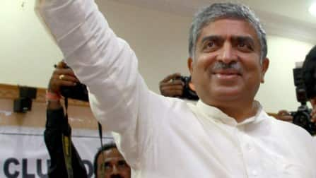 Billionaire Nandan Nilekani files papers from Bangalore South seat