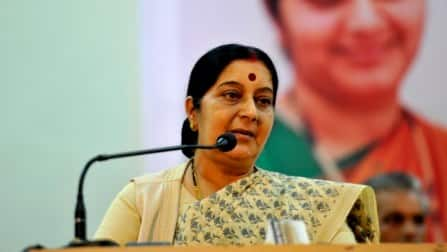 Sushma Swaraj facing a tough fight in Vidisha, but riding high