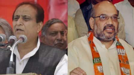 Amit Shah plays it cool, apologises but Azam Khan still banned due to his arrogance
