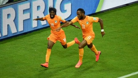 Ivory Coast comeback from goal down to beat Japan 2-1