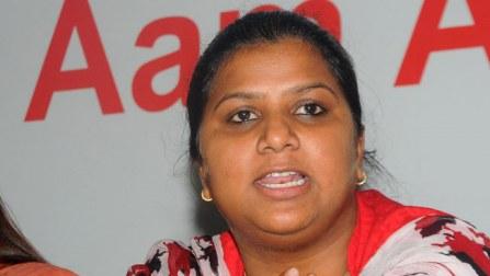 Domestic violence case filed against AAP MLA Rakhi Birla