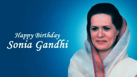Sonia Gandhi Birthday Special: Congress president turns 68 (In Pics)