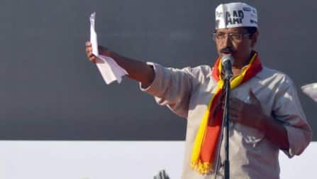 Arvind Kejriwal files nomination from Varanasi