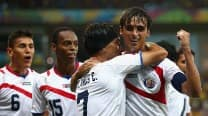 Bryan Ruiz guides Costa Rica into first World Cup quarter final