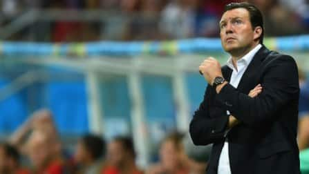 Marc Wilmots urges Belgium to seize history chance against Argentina