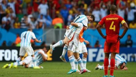 Lionel Messi hails Argentina