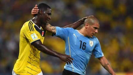 FIFA World Cup 2014 Match In Pics: Colombia vs Uruguay