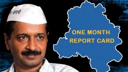 AAP one month report card: Delhi happy with one-month performance of Arvind Kejriwal-led Aam Aadmi Party, as per ABP survey
