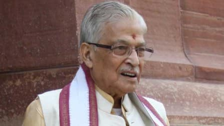 Varanasi seat row: Murli Manohar Joshi to accept party decision like a