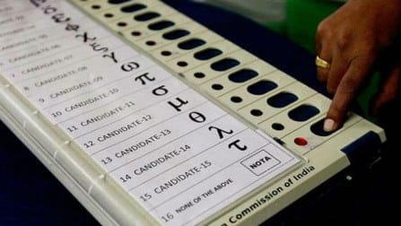 Half a percent of Delhi voters opted for NOTA