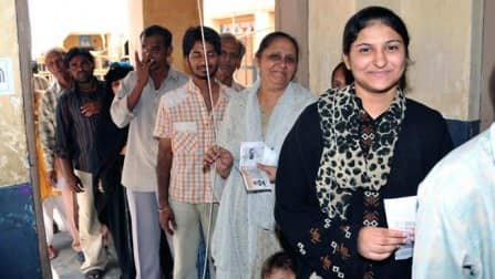 Nearly 75 per cent polling recorded in West Bengal
