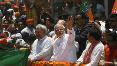 Congress will not be able to get over 100 Lok Sabha seats: Narendra Modi
