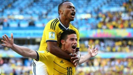 Colombia shrug off Radamel Falcao absence to beat Greece 3-0