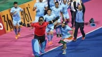 Indian goalkeeper P Sreejesh dedicates Men's Hockey gold medal to Indian Army after beating Pakistan in Asian Games 2014 final