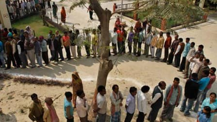 Whopping polling in West Bengal amid violence