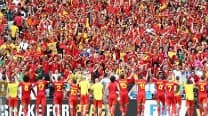 FIFA World Cup 2014 Match In Pics: Belgium vs Russia