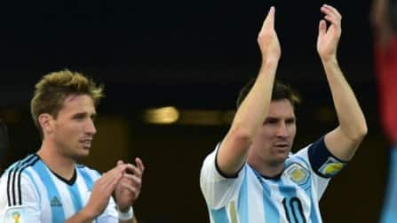 Argentina fans swamp Brazil