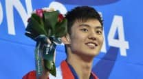Asian Games 2014: Asiad swimming China wins 4x100m medley relay gold