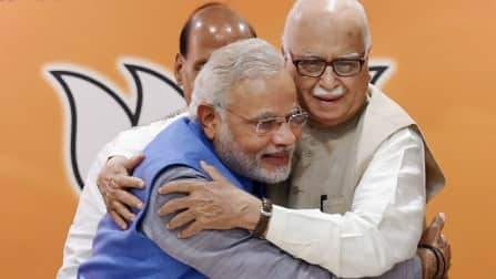 L K Advani renews wedding vows on 50th anniversary, Narendra Modi wishes him