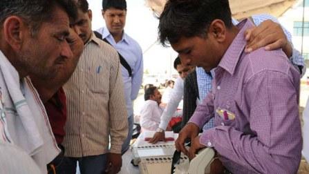 Haryana polls: Nearly 35 percent polling for 10 Lok Sabha seats