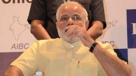 Narendra Modi has no time to relax, courtesy gruelling campaign schedule