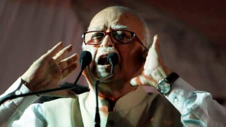 Lok Sabha Elections 2014: Advani files nomination from Gandhinagar