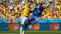 FIFA World Cup 2014 Match In Pics: Colombia vs Greece