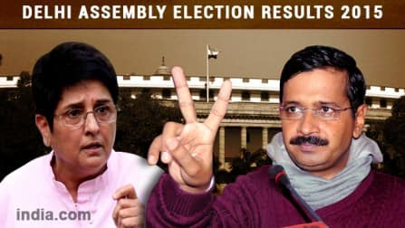 Parliamentary Constituency wise results of Delhi Assembly Election: Arvind Kejriwal
