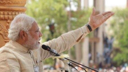 Narendra Modi takes over Rahul Gandhi