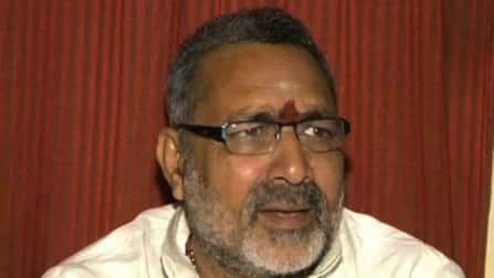 Election Commission bans Giriraj Singh from taking part in campaign in Bihar and Jharkhand