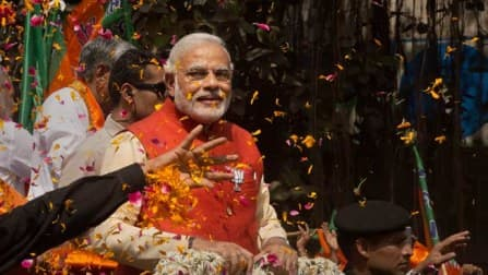 Election Results 2014 Live: Elections have re-written the history, says Narendra Modi