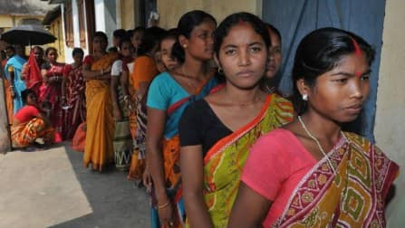 Lok Sabha elections 2014: 45 percent vote in Odisha