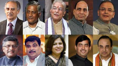 NaMo 11: The likely Narendra Modi cabinet to bring in Achhe Din